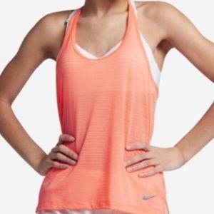 NIKE Women's Breathe Tank Cool Running Tank Top